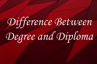 Difference between Degree and Diploma